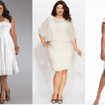 Plus Size White Club Dresses Image