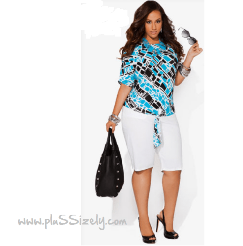 Trendy Women Plus Size Fall Fashion Image