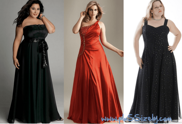 Women Plus Size Dresses for Special Prom Night Occasions Image
