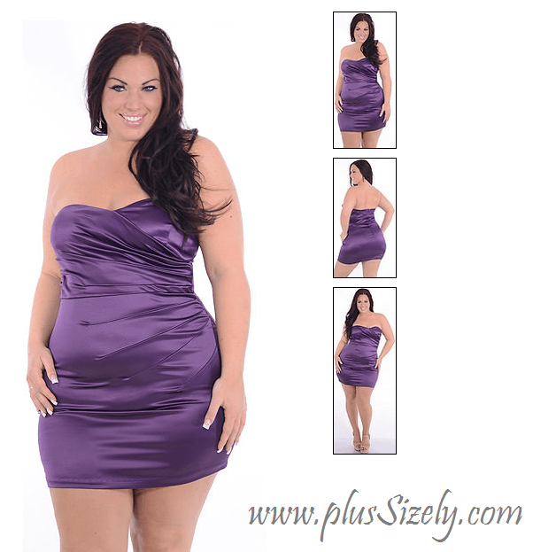Purple Club Dresses Plus Size Plus Size Club Outfit Ideas