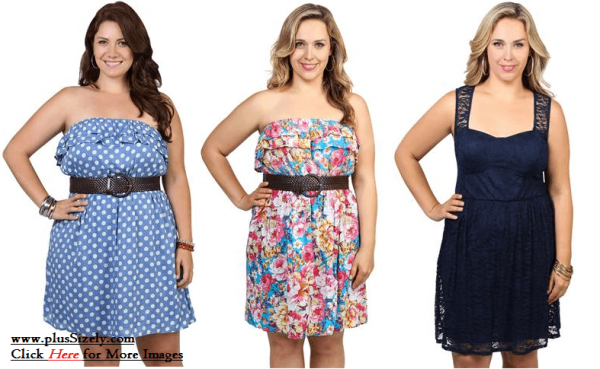 Cute Junior Plus Size Clubwear Dresses | www.PlusSizely.com