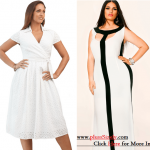 All White Plus Size Dresses, Will Look So Shimmering And Fresh