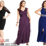 Plus Size Evening Wear, Elegant and Graceful