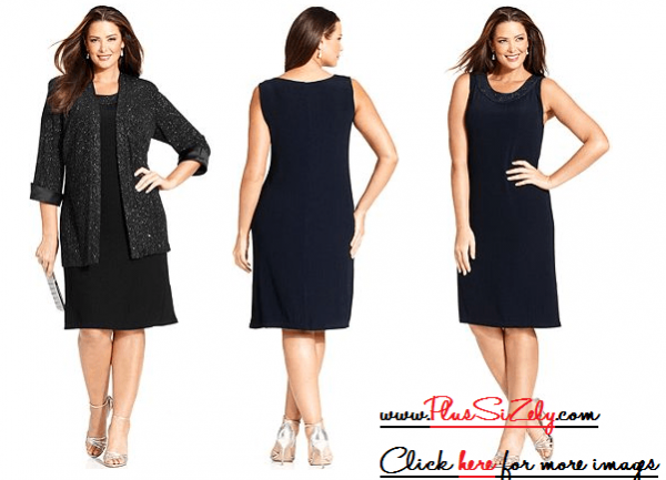 Black Plus size urban clothing Image