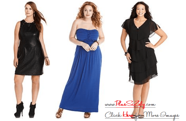 Cheap Evening Dresses Plus Size Image