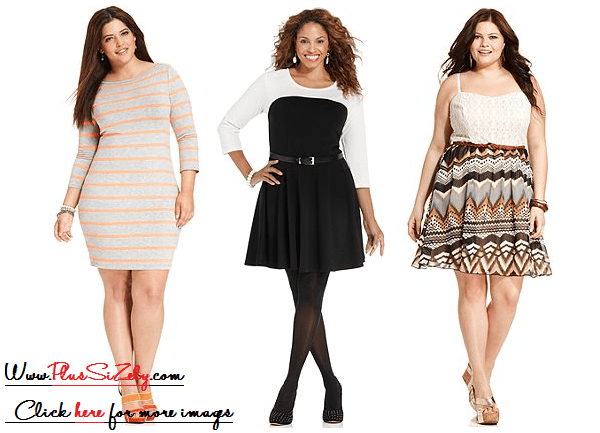 Girls Plus Size Dresses, Look Feminine | www.PlusSizely.com