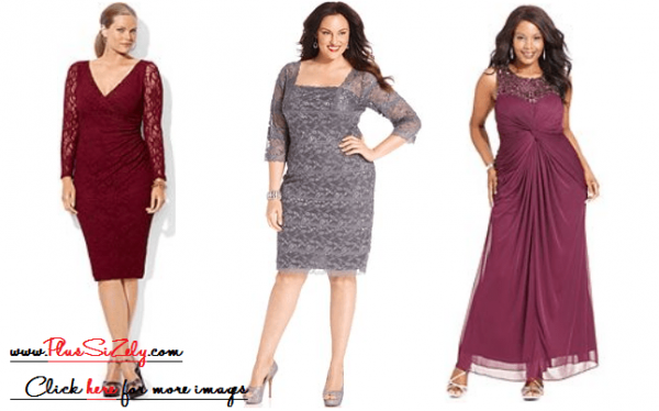 Plus Size Dresses For Wedding Guests | www.PlusSizely.com