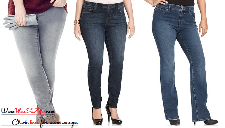 Plus Size Jeans For Women, Casual and Fashionable Cheap Plus Size ...