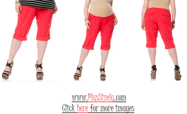 Cheap Plus Size Maternity Pants Image