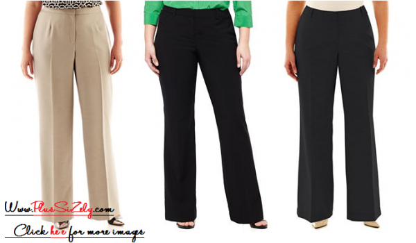 Cheap Plus Size Pant Suits Image