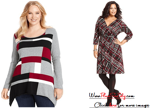Cheap Plus Size Sweater Dress Image