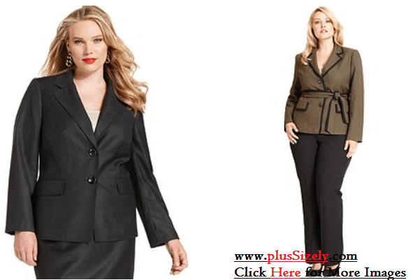 Cheap Plus Size Womens Suits Image