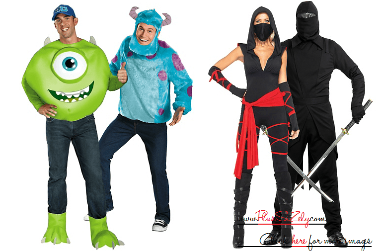 Creative Halloween Costumes For Couple Image