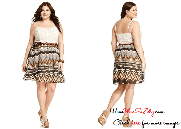 Cute Girls Plus Size Dresses Image