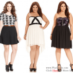 Junior Plus Size Clubwear Dresses