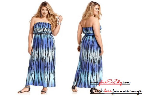 Cute Trend Plus Size Long Dresses Image