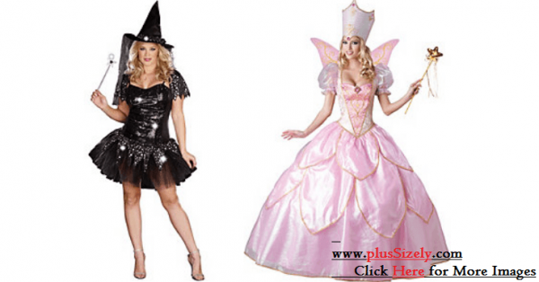 DIY Princess Plus Size Halloween Costume Image