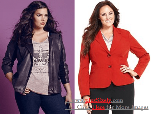 Elegant Plus Size Coats For Women Image