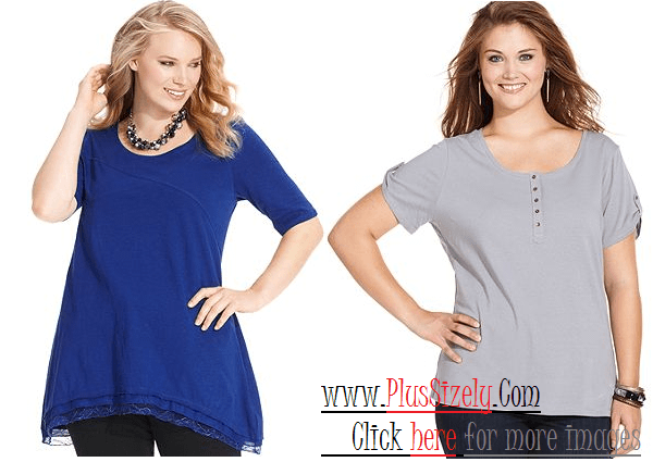 Fall Fashion 2013 Plus Size Tops For Women Image