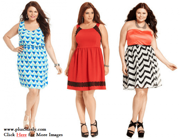 Fall Fashion Junior Plus Size Clubwear Dresses Image