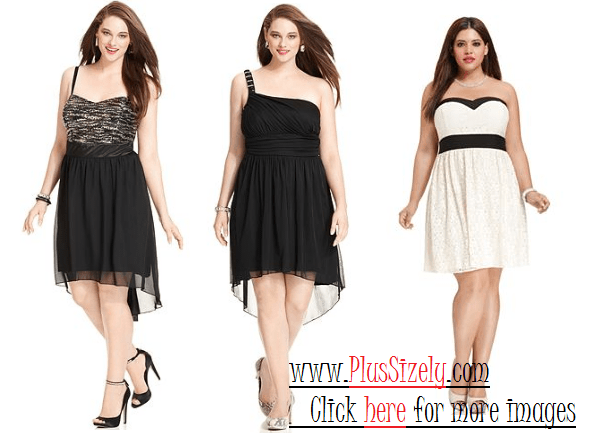 Juniors Plus Size Dresses, Very Attractive | www.PlusSizely.com