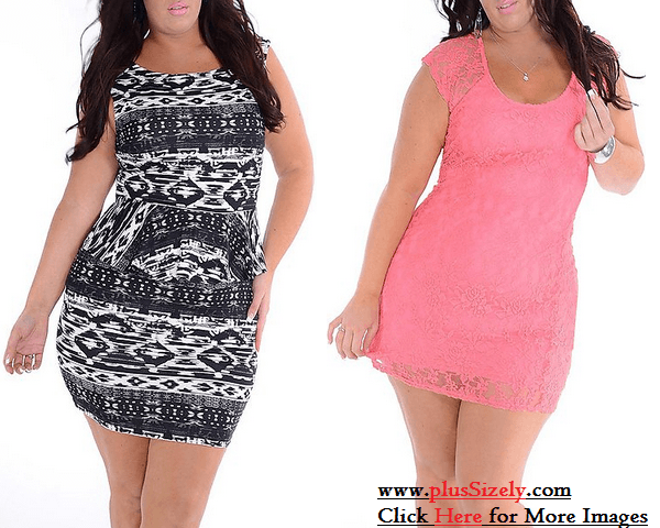 New Comer Trendy Plus Size Clubwear Dresses Image
