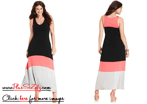 New Design Plus Size Black Dress Image