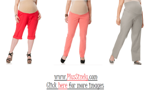 New Design Plus Size Maternity Pants Image
