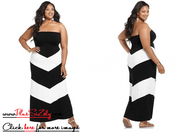 New Fashion Plus Size Black Dress Image