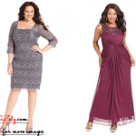 New Fashion Plus Size Dresses For Wedding Guests Image