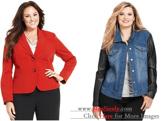 Online Cheap Plus Size Coats For Women Image