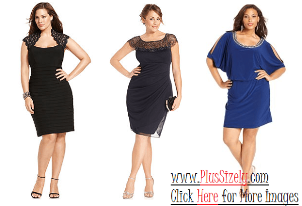 Online Cheap Plus Size Evening Dresses Image