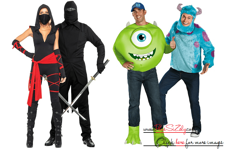 Online Halloween Costumes For Couple Image
