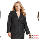 Plus Size Womens Suits with Unique and Elegant Design
