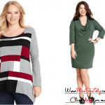 Online Store Plus Size Sweater Dress Image