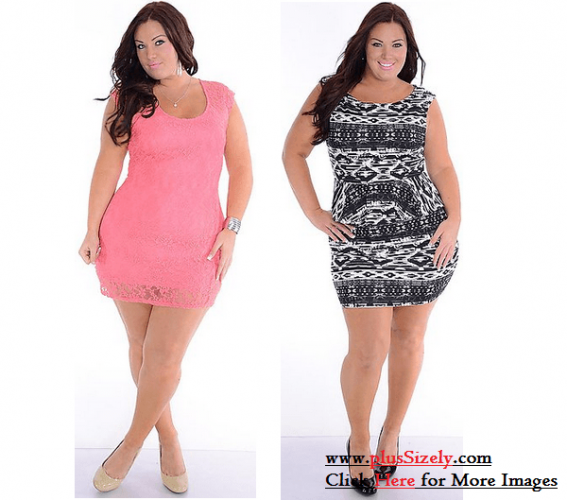 Online Store Trendy Plus Size Clubwear Dresses Image
