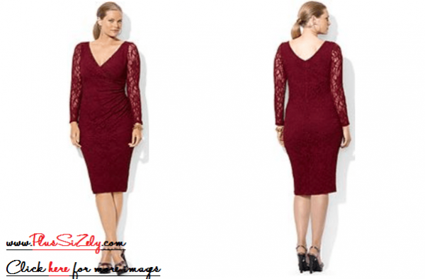 Plus Size Dresses For Wedding Guests Image