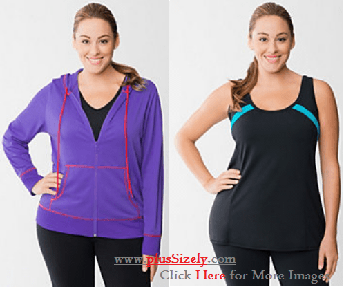 Plus Size Exercise Clothes Image