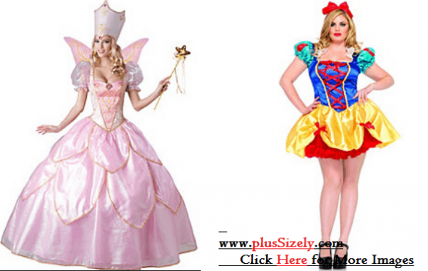 Plus Size Halloween Costume Image