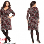 Plus Size Sweater Dress Image