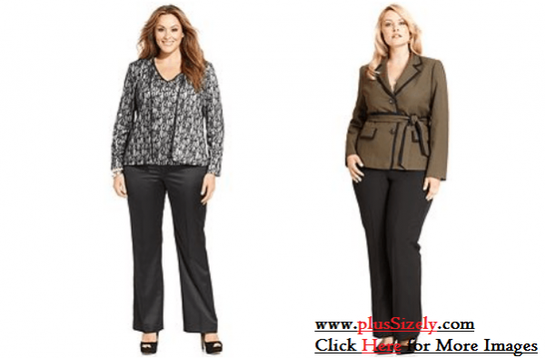 Plus Size Womens Suits Image