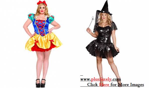 Unique Plus Size Halloween Costume Image
