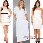 Plus Size White Party Dress to Complete Your Appearance