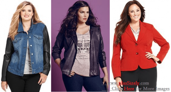 Various Style Plus Size Coats For Women Image
