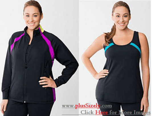 Wholesale Plus Size Exercise Clothes Image