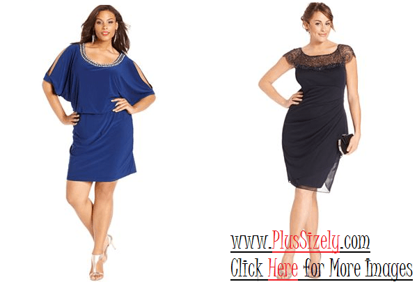 Plus Size Evening Dresses, Look So Perfect | www.PlusSizely.com