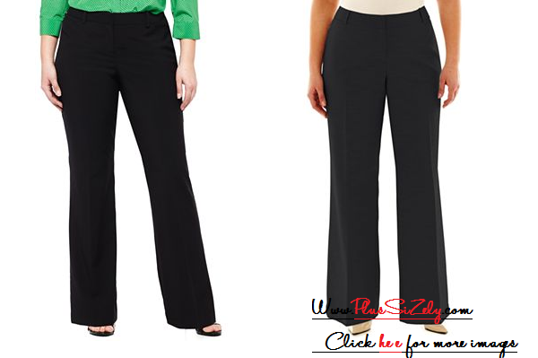 Women Plus Size Pant Suits Image