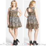 Batik Newest Model of 2013 Eve Dresses for Big and Tall Women Images