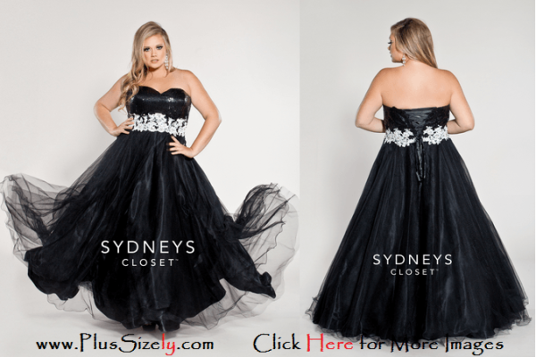 Black Elegant 2014 Plus Size Fashion Images