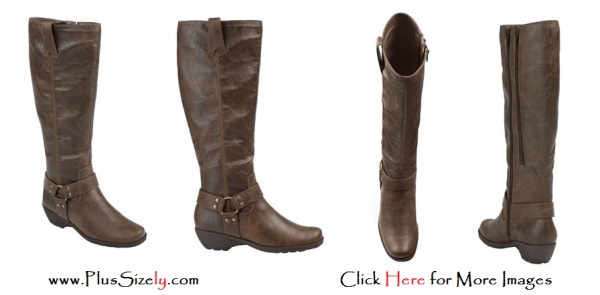 Cheap Plus Size Leather Boots For Women Images